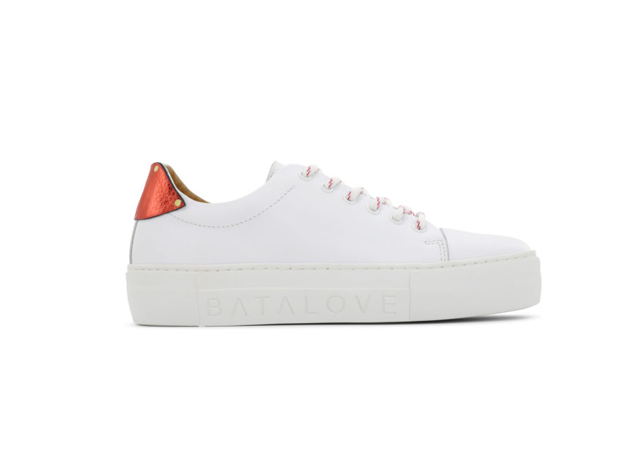 Florence Platform Sneakers White