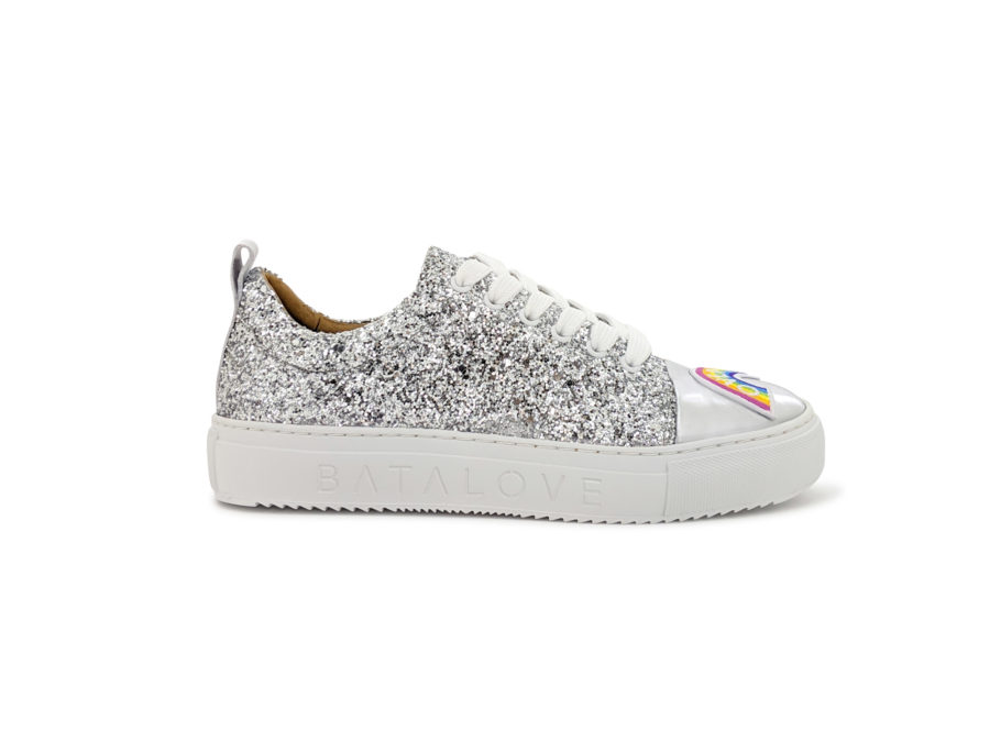 Blanche Glitter Sneakers